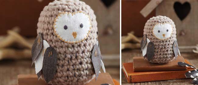 Free Amigurumi Owl Pattern