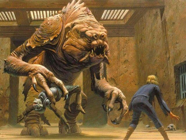 Rancor monster | Ewoks & Ugnaughts & Rancors, Oh My ... Rancor Monster