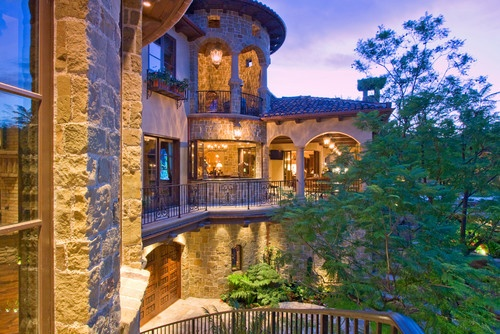 Beautiful log homes