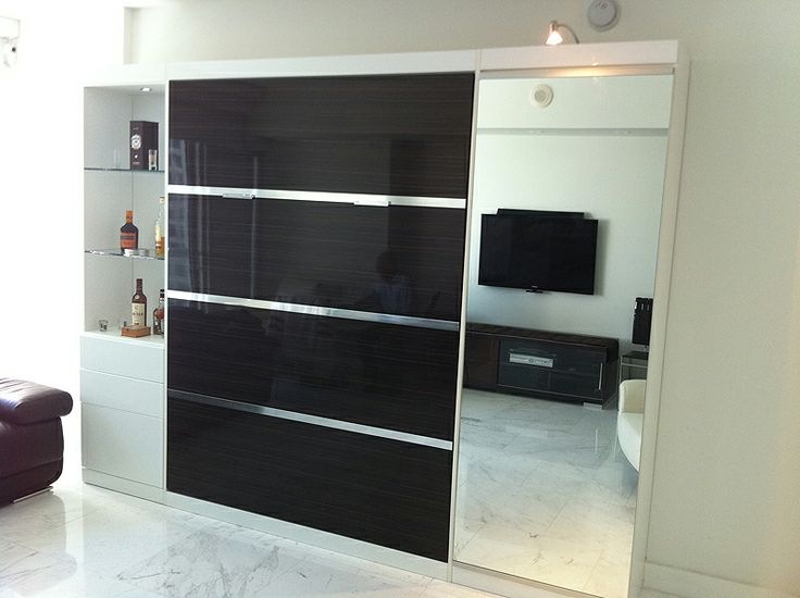 Modern murphy bed murphy and panel beds pinterest Modern murphy bed
