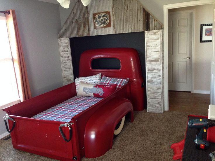 Kids Truck Bed Vintage ford pickup truck bed