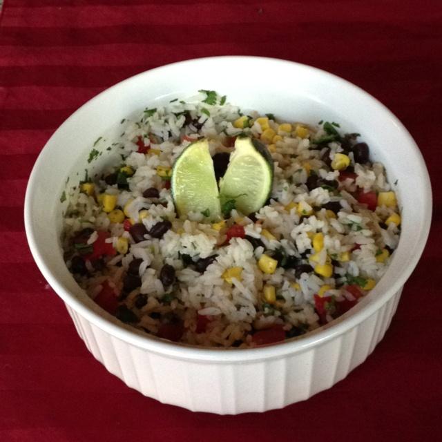 Fiesta lime rice MmMmm good! | Din Din | Pinterest
