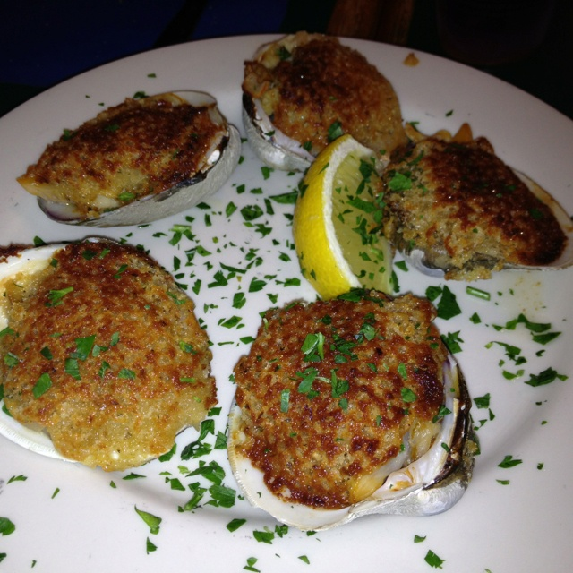 Stuffed quahogs at Daily Catch! | Yummy Food and Fantastic drinks ...