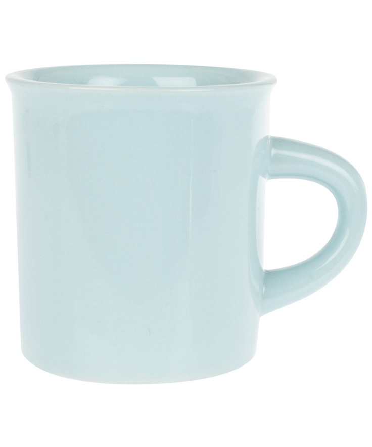 Light blue classic diner mug fishs eddy for Fishs eddy dinnerware