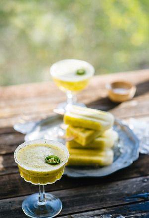 Pineapple Margarita Ice Pops