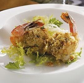 Crab & Scallion Stuffed Shrimp | What's for Dinner | Pinterest