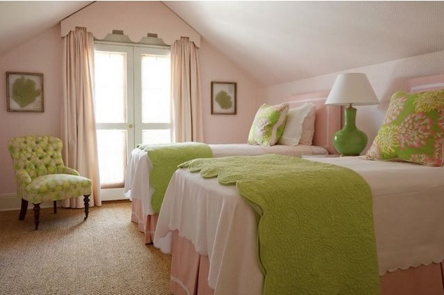 pretty blush pink and green bedroom decorating ideas pinterest