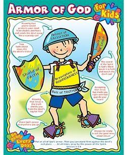 Armor of god for kids poster