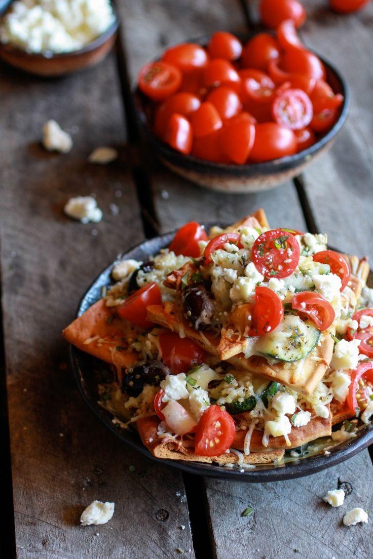 Greek Nachos Pita Bread Recipes — Dishmaps