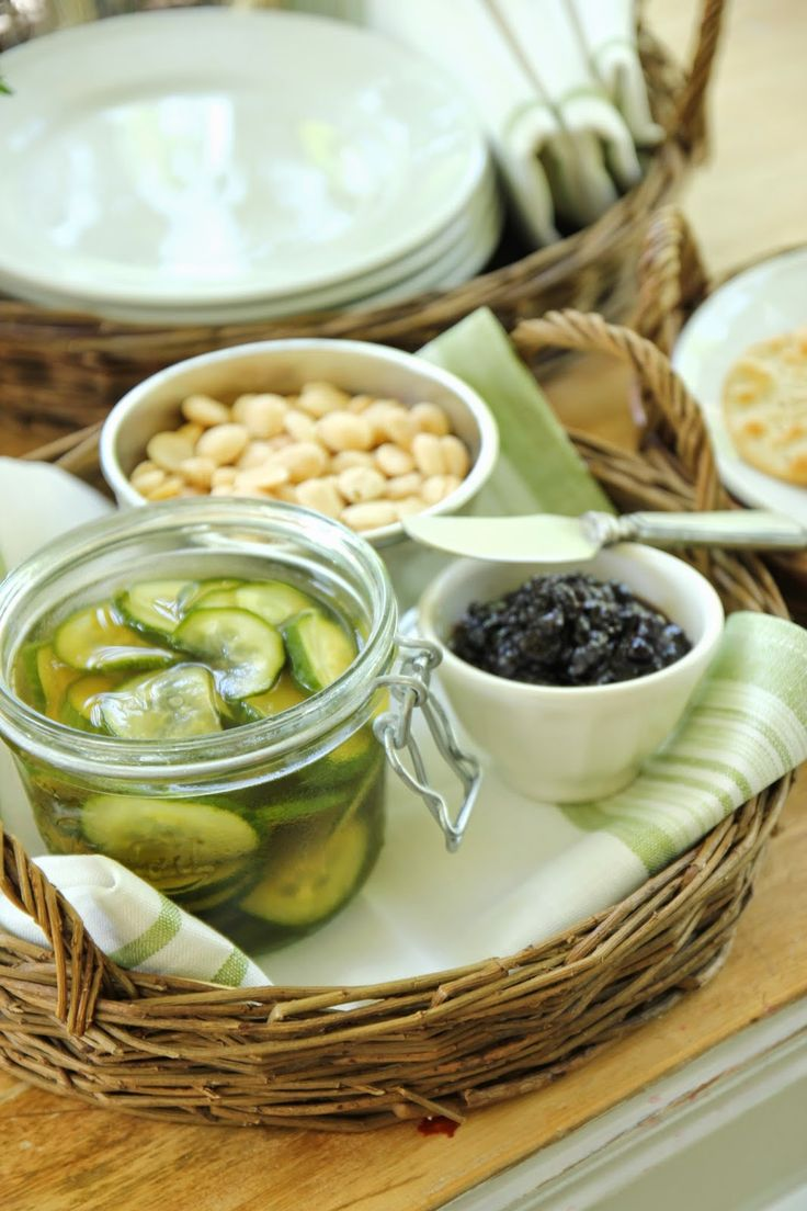 Jenny Steffens Hobick: Easy Homemade Pickles | Willow Serving Baskets ...
