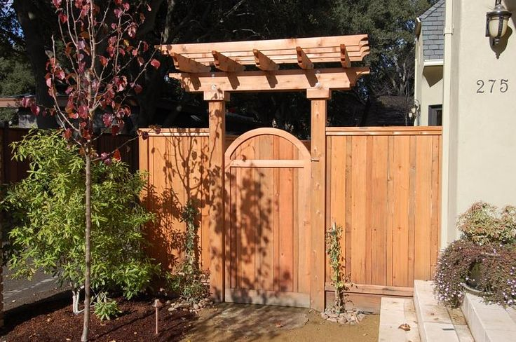 Builders Fence and Gate Details outdoor living Pinterest