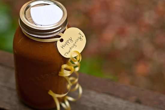 Homemade Pumpkin Butter - good fall gift | Love for the Senses | Pint ...