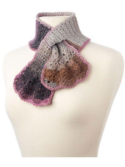 Crochet Pattern Keyhole Scarf : Key Hole Scarves Pattern crochet Pinterest