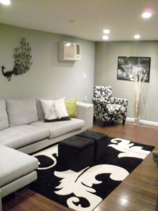 basement living room favorite decor spaces pinterest