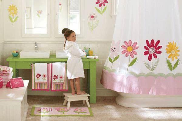 Ideas Para Decorar Baños De Ninas:Ideas para decorar baños de niñas