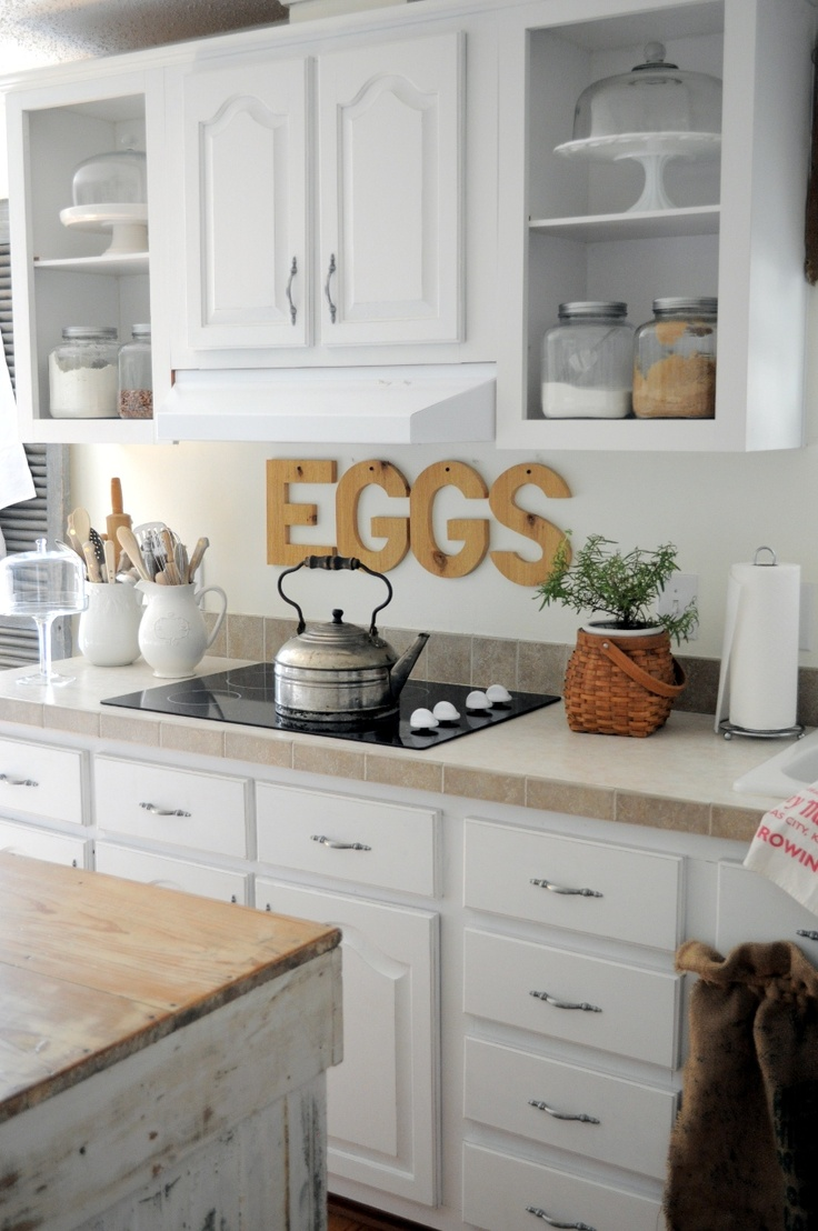 Wooden Eggs Sign Over Stove Kitchen Pinterest