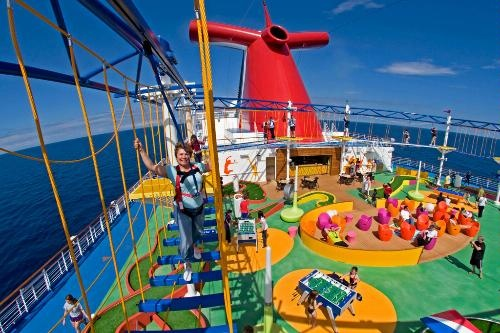 category cruise ship activities