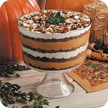 Pumpkin Gingerbread Trifle: | holiday foods | Pinterest