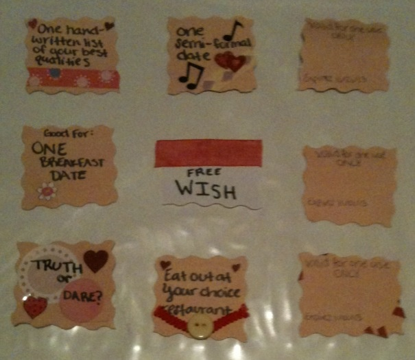 Cute ideas for homemade coupons for boyfriend / Ihop 20 percent off