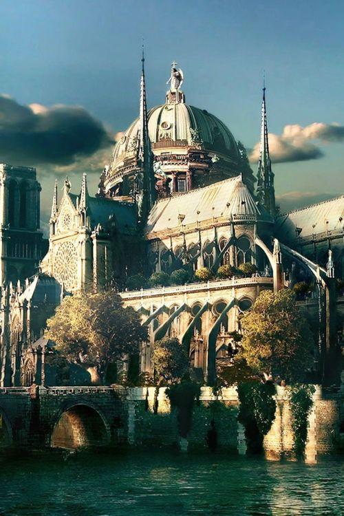 Ile de la Cité, Notre Dame Catheddral, Paris