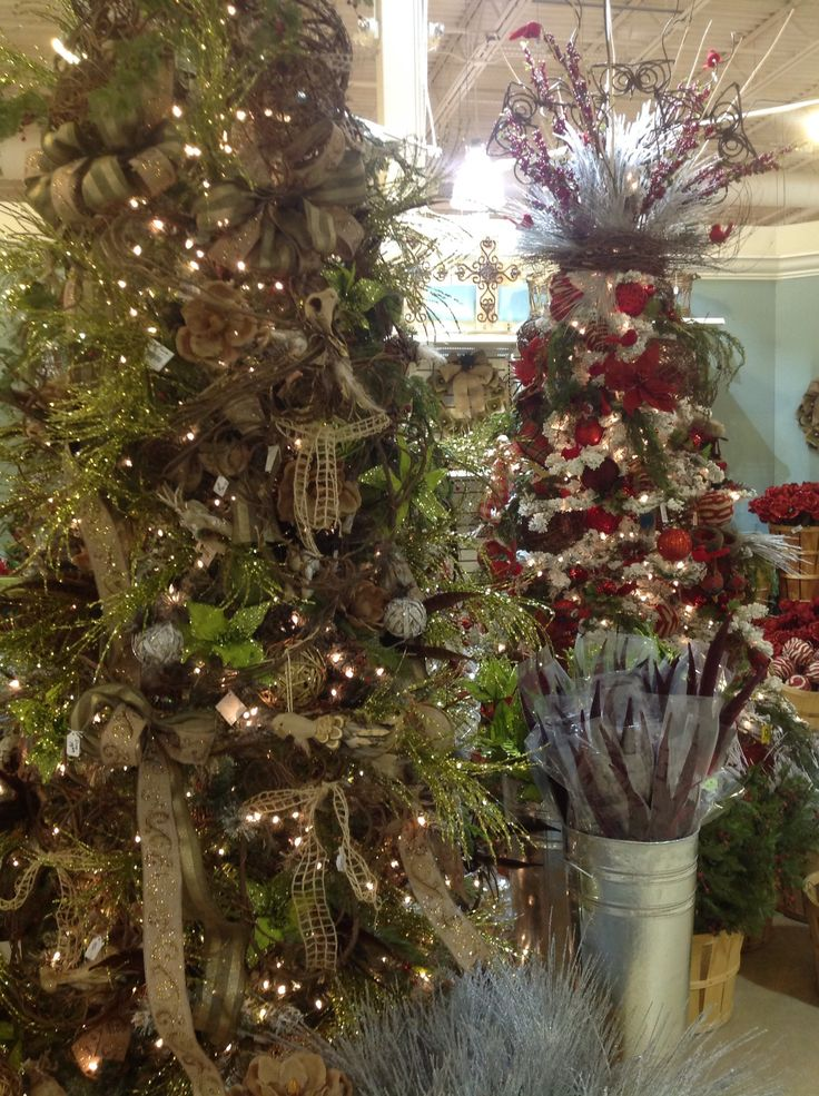 Woodland Christmas trees | Woodland decor | Pinterest