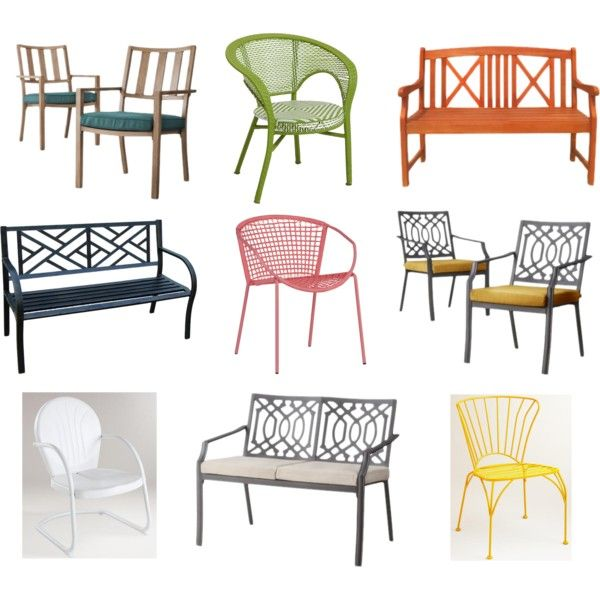 """Affordable Outdoor Furniture"" by blue11interiors on Polyvore"