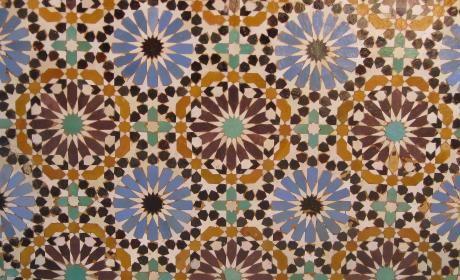 Nichts ist schöner als Fliesen aus Marokko..