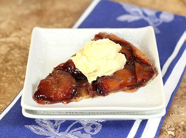 More like this: tarte tatin , plums and plum tart .
