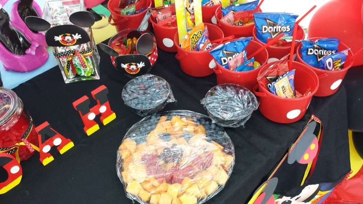 mickey mouse pool party ideas