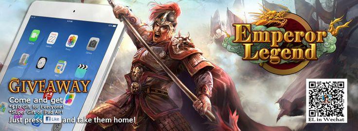Emperor Legend Giveaway:Win an iPad Air 8796fdf3eabacdbac3cf477cc0c7dab3