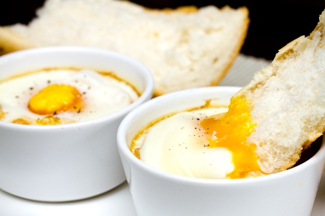 Baked Eggs | Breakfast & Brunch | Pinterest