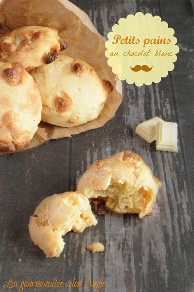 petits pains au chocolat blanc | recipes | Pinterest