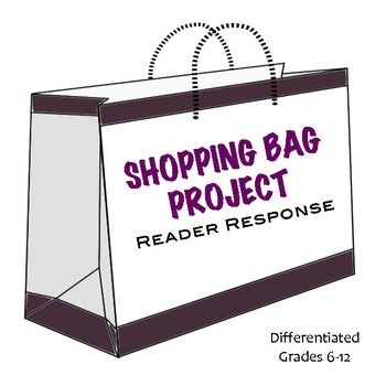 Shopping bag book report