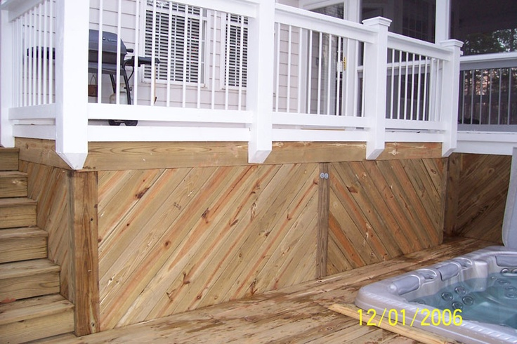 house skirting options with 248331366925513740 on Int architrave also 15 Awesome Shipping Container Hunting Cabins moreover 248331366925513740 as well Deck furthermore Home Exterior Renovation From Tired To Stylish.