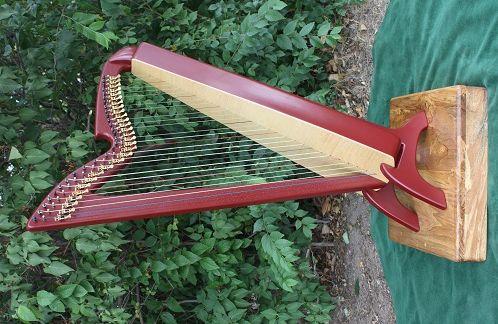 FIBER HYBRID : Blevins Harps, Hand-Crafted Harps, Made In Colorado