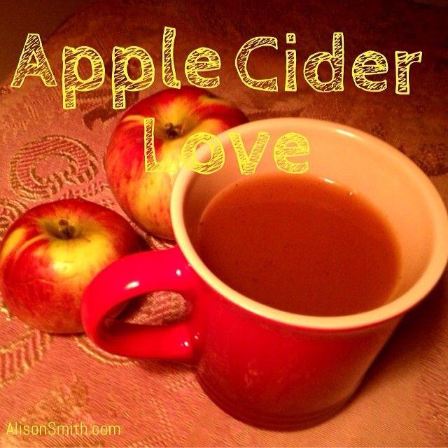 Hot apple cider spiced with cinnamon & vanilla powder. #juicing # ...