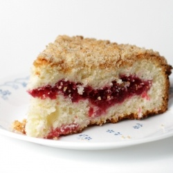 Cranberry Vanilla Coffee Cake | Coffee Cake, Cut Me a Slice! | Pinter ...