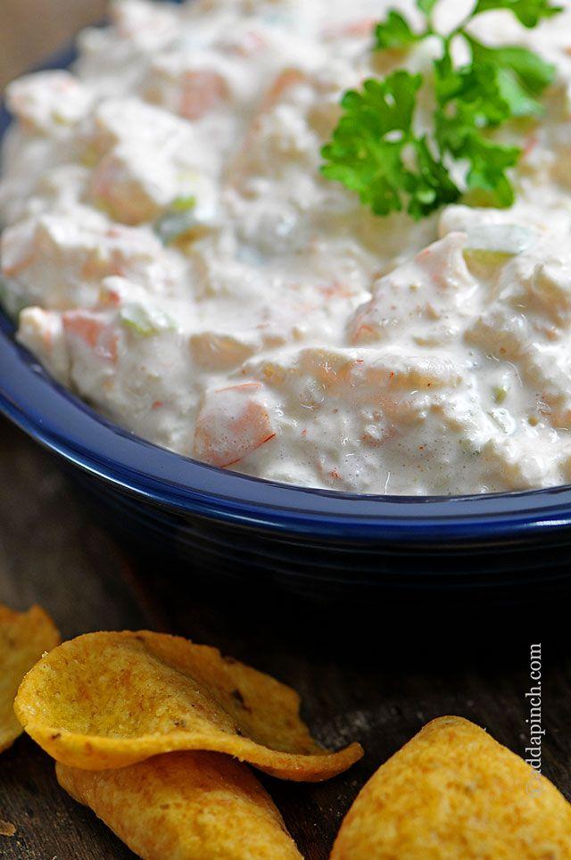Shrimp Dip Recipe. A delicious dip for holiday entertaining!