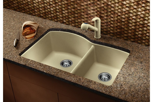 Blanco Sinks Website : We love Blanco Sinks! Biscotti Silgranit Sinks from #Blanco