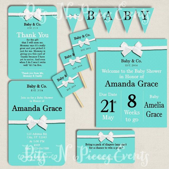 tiffany blue baby shower invitation package tiffany and co baby show
