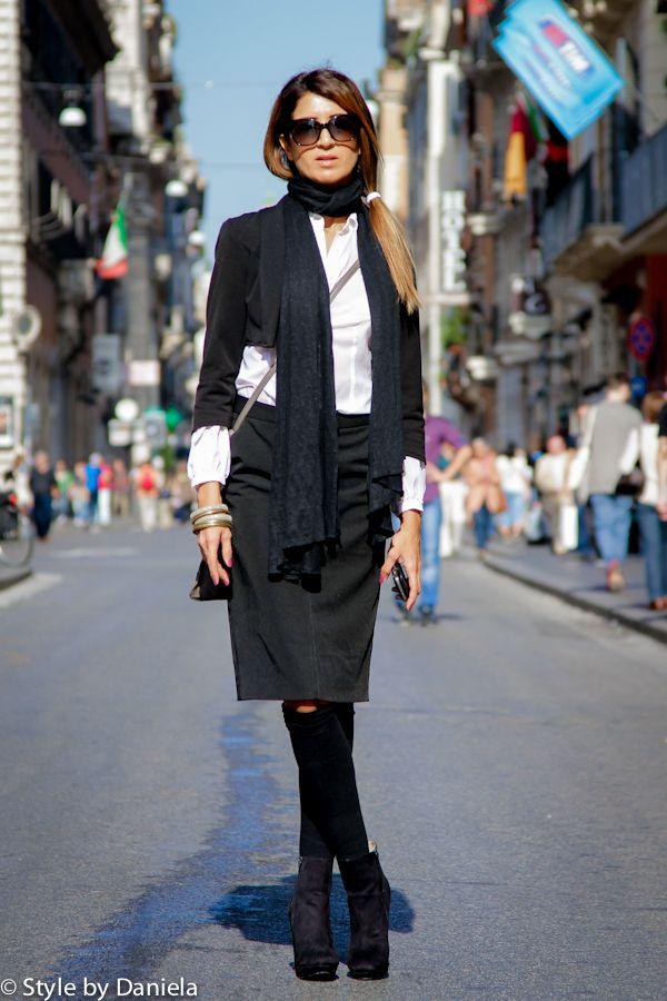 Street Fashion Street Style Rome Fashion Pinterest