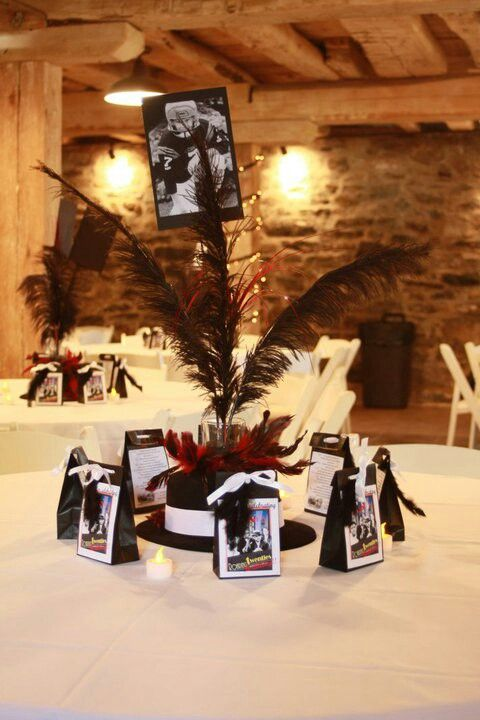 1920 39 s centerpieces birthday ideas pinterest for 1920 party decoration ideas
