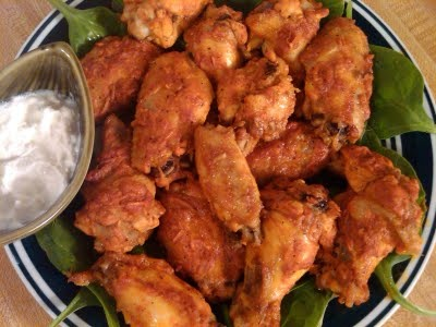 Baked Hot Chicken Wings | Healthy one recipe at a time... | Pinterest