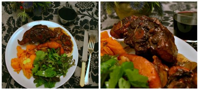 Comforting Suppers: Wintry Oxtail Glazed with Red Wine, Orange, and R ...