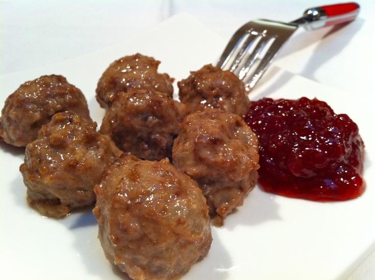 Swedish Meatballs | amuse-gueule et trempette | Pinterest
