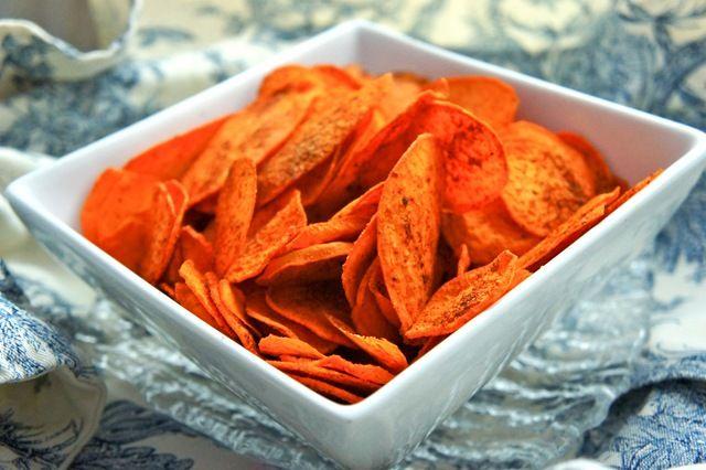 DIY BBQ Sweet Potato Chips | Healthy Living | Pinterest
