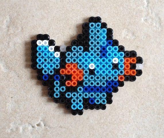 mudkips pearler bead craft ideas