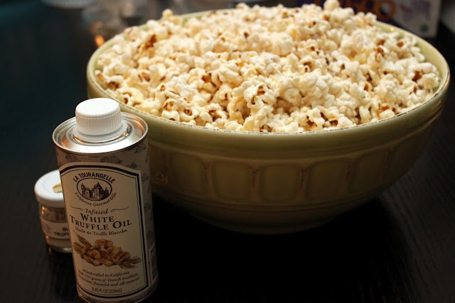 truffled {homemade} popcorn. | Appetizers & Sides | Pinterest