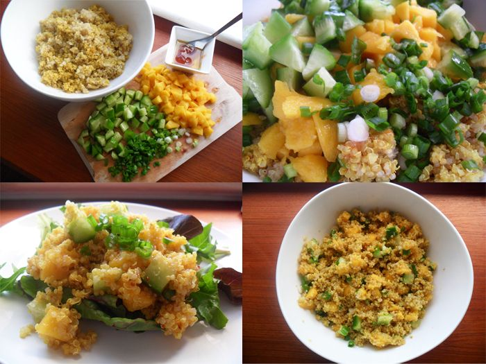 make ahead curried coconut quinoa with shrimp and basil quinoa pudding ...