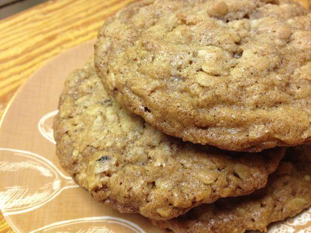 Oatmeal Walnut Cookies | Food - Cookies : Oatmeal | Pinterest